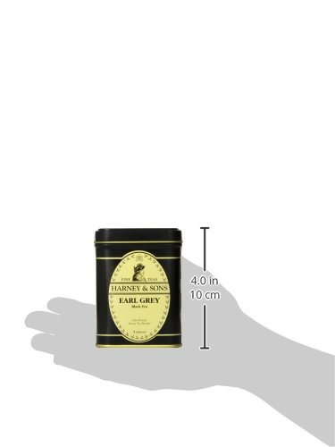 Harney & Sons Black Earl Grey Loose Leaf Tea, 4 Ounce 5 Perhaps the most famous tea in the world, it was inspired by the British Prime Minister, Earl Grey This blend uses teas from India and China, blended with natural Oil of Bergamot It can be enjoyed on its own or with milk and sugar