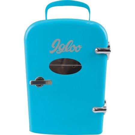 mini fridge blue - 4