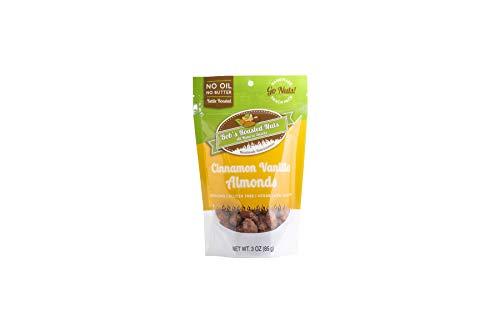 Roasted Almonds In Cinnamon Sugar Vanilla , Single Snack Pack
