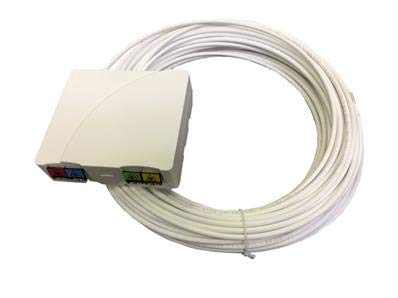 40,00 m 1 Fo XHsystem DTIo precable rectangulaire SC//APC