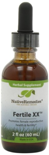 Native Remedies Fertile XX for Female Reproductive Health, 59  ml