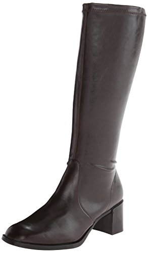 A2 by Aerosoles Make Two Tall Boots -Brown Stretch 8.5 W, Br