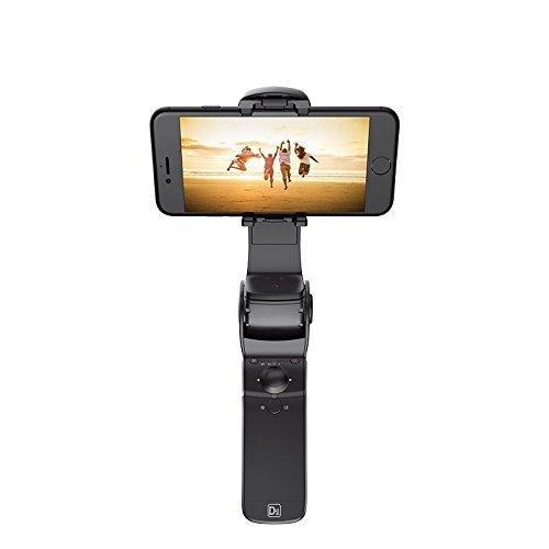 Nero Hohem Gimbal D1 Stabilizzatore portatile pieghevole per smartphone con powerbank incluso