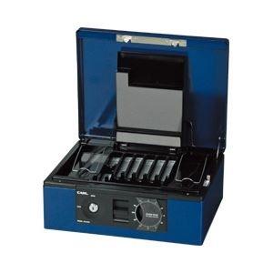 カール キャッシュボックス A4 ブルー 生活用品 インテリア 雑貨 文具 オフィス用品 金庫 14067381 [並行輸入品] B07GTT2PXC