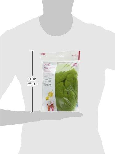 19,5/mm 30/g efco/ /Lana para Fieltro Superfine Lana de Merino Verde Claro