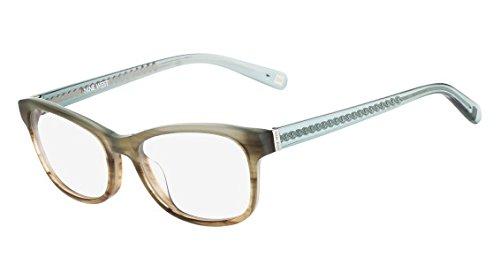 c6bfa2a226 Nine West Eyeglasses NW5087 405 Blue-Brown Horn Gradient at Amazon ...