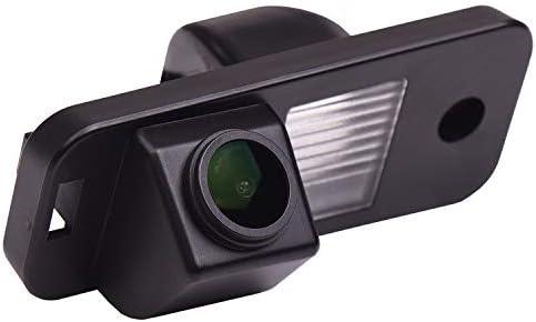 HD 1280x720p Reversing Camera Integrated in Number Plate Light License Rear View Backup Camera Waterproof Night Vision for Hyundai Santa Fe IX25 2014 2015 Azera Carens Creta