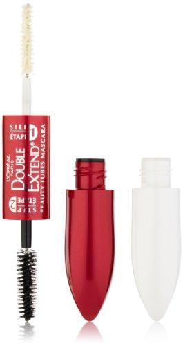 L'Oreal Paris Double Extend Beauty Tubes Mascara, Black, 0.17-Fluid Ounce