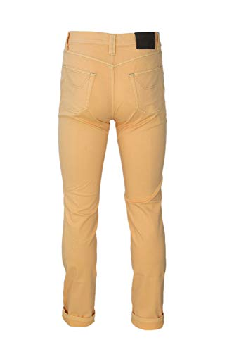 Cotone 26pujupa01st10421yellow Jeckerson Jeans Giallo Uomo qRxcX7Awt