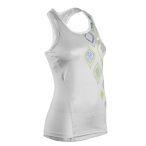 Sugoi Jackie Women's Racer Tank Top - White - Large