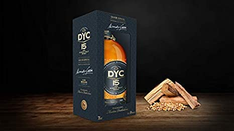DYC Edición Especial 60 Aniversario Single Malt Whisky de 15 años - 700 ml