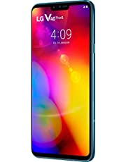 LG V40 Thinq Smartphone 128 GB (16, 3 cm (6, 4 Zoll) OLED-Display mit Notch, Triple-Hauptkamera, IP68 und MIL-STD-810G), Morocan Blue