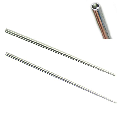 NewkeepsR 16G 316L Steel Taper Insertion Pin for Stretching Kit Ear Expander Body Piercing Tool