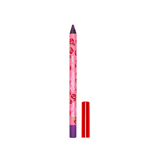 Lime Crime Velvetines Lip Liner (Magic). Long Lasting Pansy Purple Matte Lip Lining Pencil (0.042oz /1.20 g)