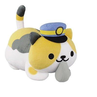 Banpresto Neko Atsume: Kitty Collector: Conductor Whiskers Big Plush Doll by Banpresto