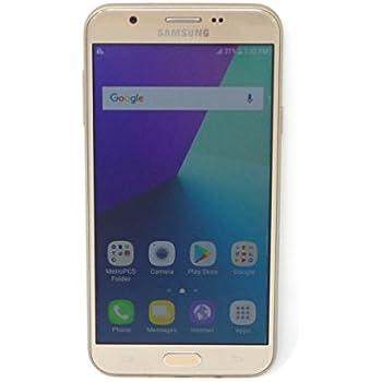 dc80636345c Samsung Galaxy J7 Prime 5.5in Smartphone GSM Unlocked 16GB 8MP Gold 4G SM-J727T  (Renewed)