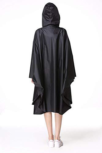 Impermeable De Lluvia Schwarz Poncho Patrón Trench Coat Anaisy Rainwear Raincape Parka Joven Las Floral Mujeres La Motocicleta Eva qF1xSHR