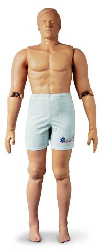Simulaids Rescue Randy IAFF Manikin (Weighted) w/Reinforcements 165 lbs - 1475