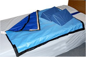 "30-Degree Bed System with Slider Sheet and Two 16"" Wedges - Mesh Sheet, 50''L x 48''W - 1 Set"