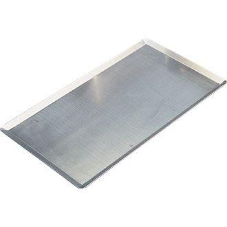 Bandeja de aluminio pastelería. De aluminio bandejas Gastronorm o pastelería borde inclinado con. De