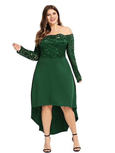 4 Green 3 A Manica Donna Vestito Cocktail Esprlia wqR171