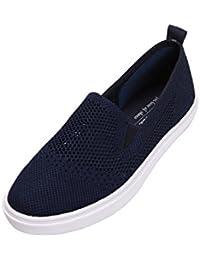 Women's Flyknit Fashion Flat Shoes