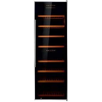 Armario Cava de Vino 2 temperaturas 200 botellas 600X700X1950h mm PEKIN W-200: Amazon.es: Industria, empresas y ciencia