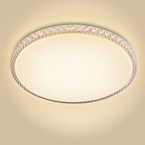 CORSO 20-inch Modern Diamond Chandelier Lighting LED Ceiling Light