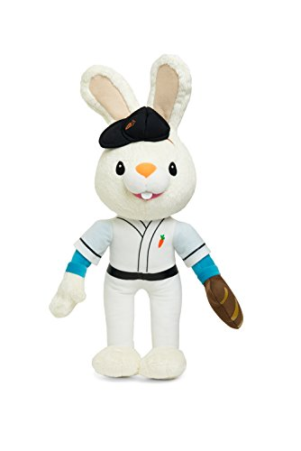 BUNNY OF THE YEAR - Baby First TV - Baseball Harry the Bunny Soft Plush Toy - Baby Shower Gifts - Toys Deals - Toddler Toys - Baby Gift - Baby Toys for Boys - PERFECT BIRTHDAY (Baby First Tv Characters)