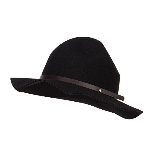 Ranger Mountie Hat - Black OSFM (Hat Mountie Hat)