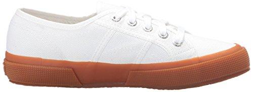 Superga Unisex 2750 Cotu Classic Sneaker Weiß / Gummi