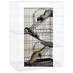 ProSelect Steel Cat Cage Ramp Kit, Set of 3