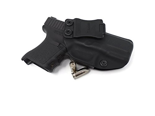 Badger Concealment Glock 43 Inside the Waistband Holster (APPENDIX 0 CANT)