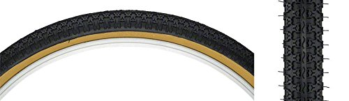 Kenda K52 Street BMX Tire 24x1.75 Black/Tan Steel by Kenda