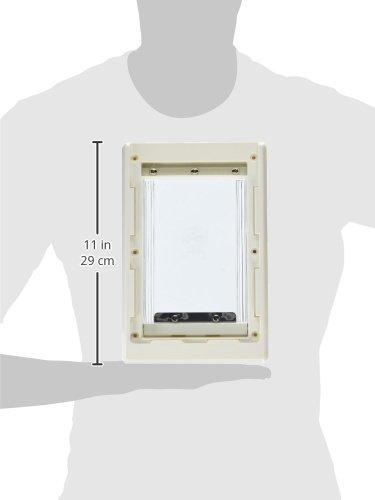 Ideal pet products original pet door with telescoping for Ideal dog door