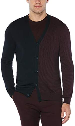 メンズ ニット、セーター Big & Tall Feeder Stripe Cardigan [並行輸入品]