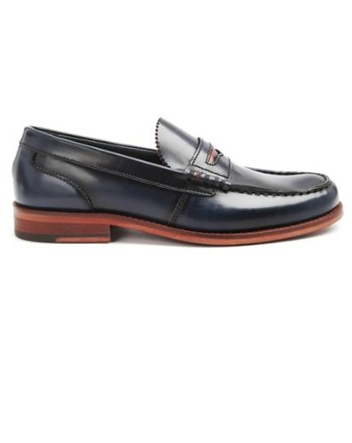 3a3caf72f Tommy Hilfiger - Loafers - Men - Penny Loafer Blue Moccasins - 40 ...
