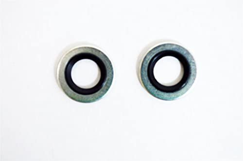Vauxhall Air Avec O Ring Joints x2 Astra Corsa Meriva Zafira INSIGNIA 24436644 NEUF