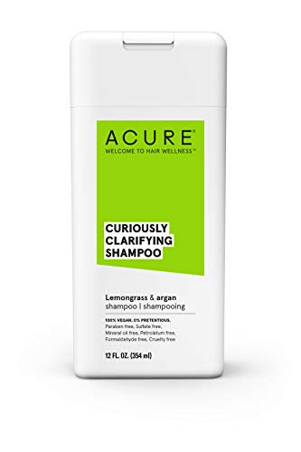 Curiously Clarifying Lemongrass Shampoo Packaging product image