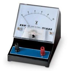Nasco Student Meter - Range: 0-10V Single Scale with DC Voltmeter - SB26365