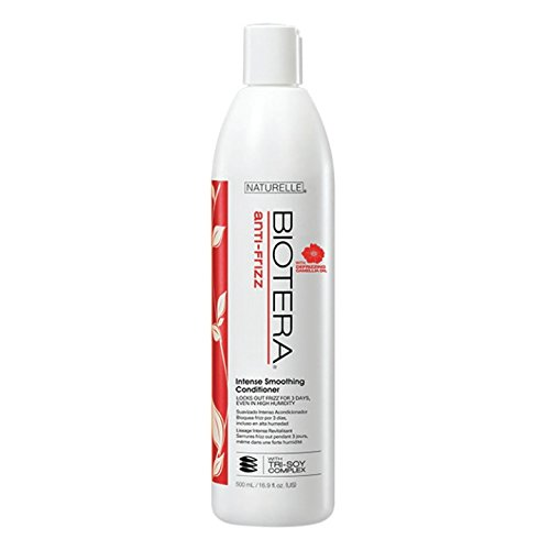 Biotera Anti-Frizz Intense Smoothing Leave-in Conditioner, 8-Ounce