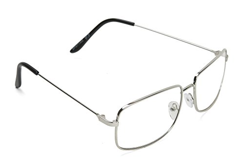 The One Who Knocks Clear Rectangular Aviator Lens Glasses, - Off Knock Glasses