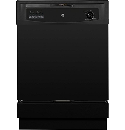 "GE 24"" Built-In Dishwasher Black GSD3301KBB"