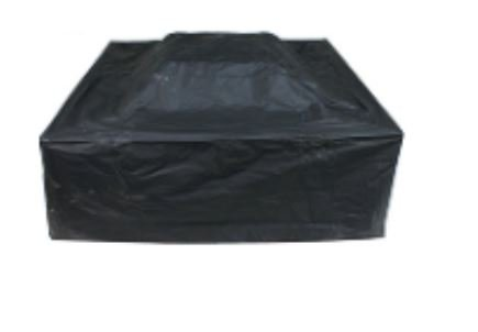 ALEKO FPC10 Heavy Duty Weather Resistant Fire Pit Bowl Protective Cover 32 x 32 x 18 Inches Black by ALEKO