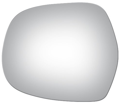 2003 - 2009 TOYOTA 4-RUNNER Flat Driver Side Replacement Mirror Glass (Toyota Drivers Corner 4runner Side)