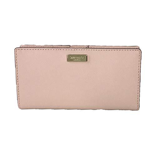 - Kate Spade Laurel Way Leather Stacy Bifold Wallet, Warm Vellum Pink