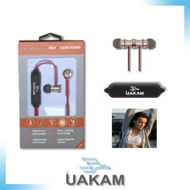 Fashion In-ear-Sport-Stereo-Magnetic- Wireless-Bluetooth Earphone, compatible with most universal bluetooth devices such as androids by UAKAM by UAKAM (Image #3)