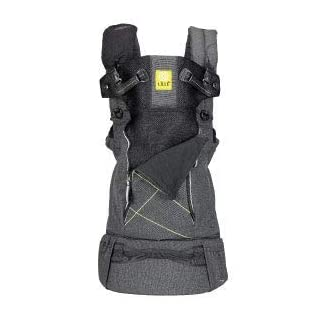 LÍLLÉbaby 6-in-1 Pursuit All Seasons Ergonomic Baby and Child Carrier for On-The-Go Babywearing, Graphite