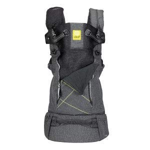 L LL baby 6-in-1 Active All Seasons Ergonomic Baby Child Carrier for On-The-Go Babywearing, Graphite