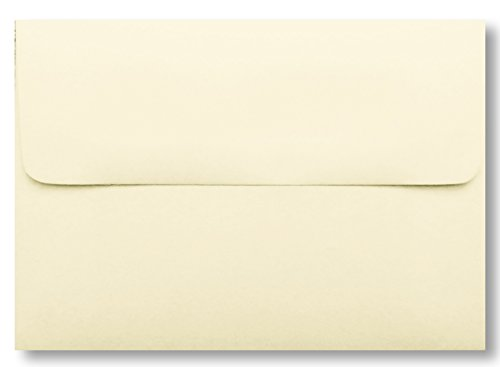Envelopes A7 for 5 x 7 cards) - IVORY 200 Boxed Wedding Invitation